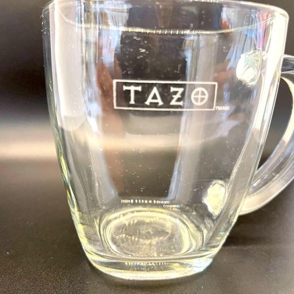 6 Starbucks Tazo Tea Square mugs